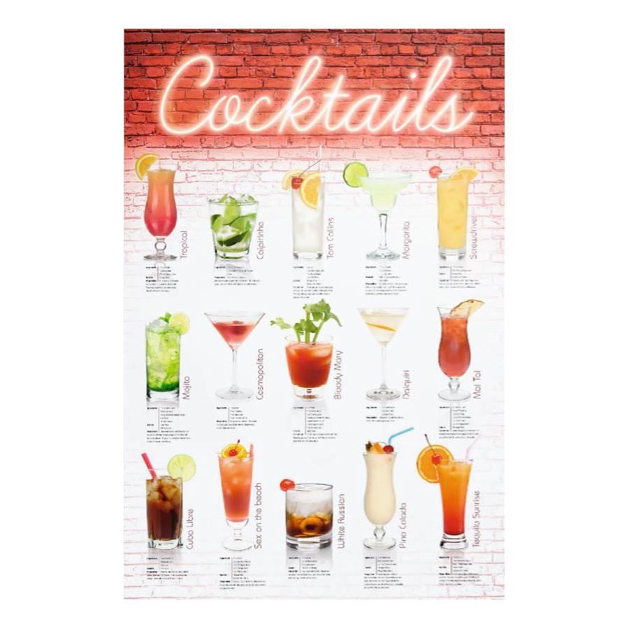 Anglais Tableau Déco Cocktails I Tableau 8nOk0wP