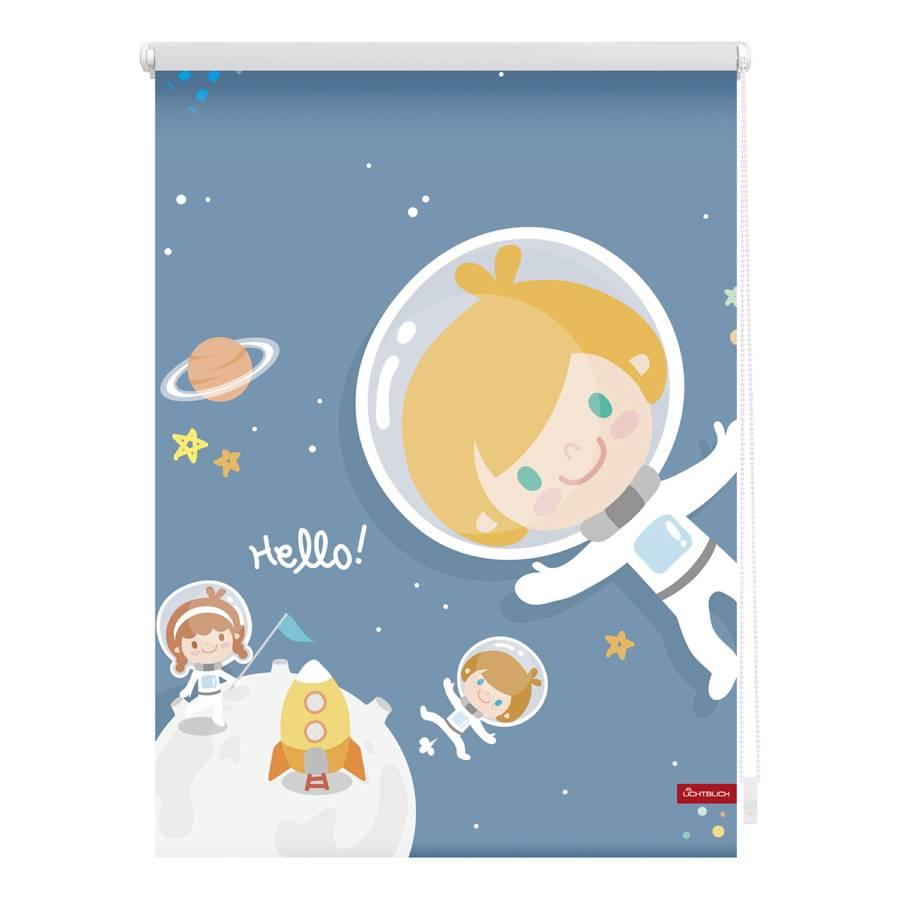 X 150 Verdunkelungsrollo WebstoffBlau 45 Astronaut Cm tsrdhQC