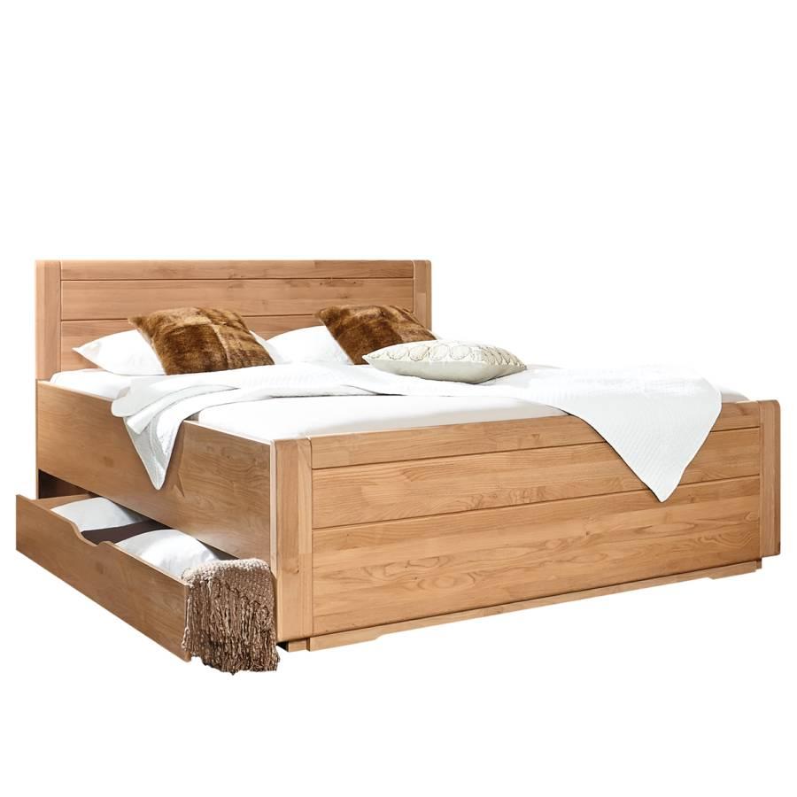 X Holz EicheTeilmassiv180 Massivholzbett Lido 200cm yYb6f7g