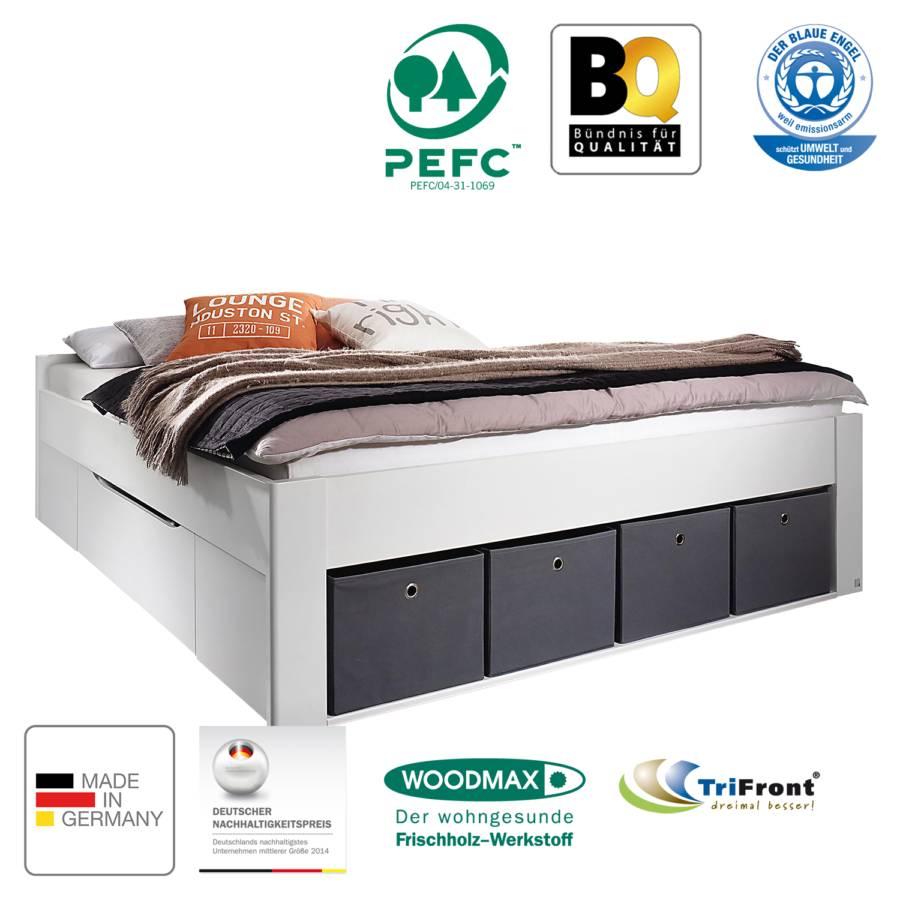 Ii Bett Scala X 200cm Alpinweiß180 TlKcF1J