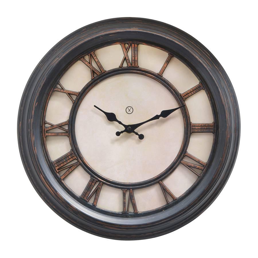 Ii Murale Liverpool PlastiqueBeige Matière Horloge wk0OPn