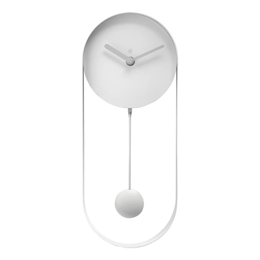 Toulouse Horloge Lumineux MétalGris Murale OPkXlZuwiT