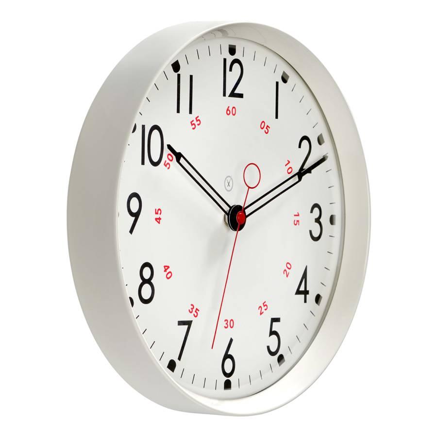 Horloge MétalImitation Blanc Dublin Murale Polaire oQrCedBWx