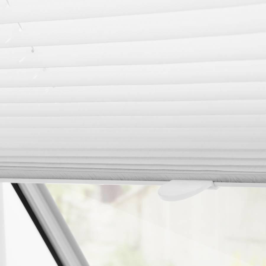 X Plissee Dachfenster Weiß47 100 Haftfix Cm OwPkn0