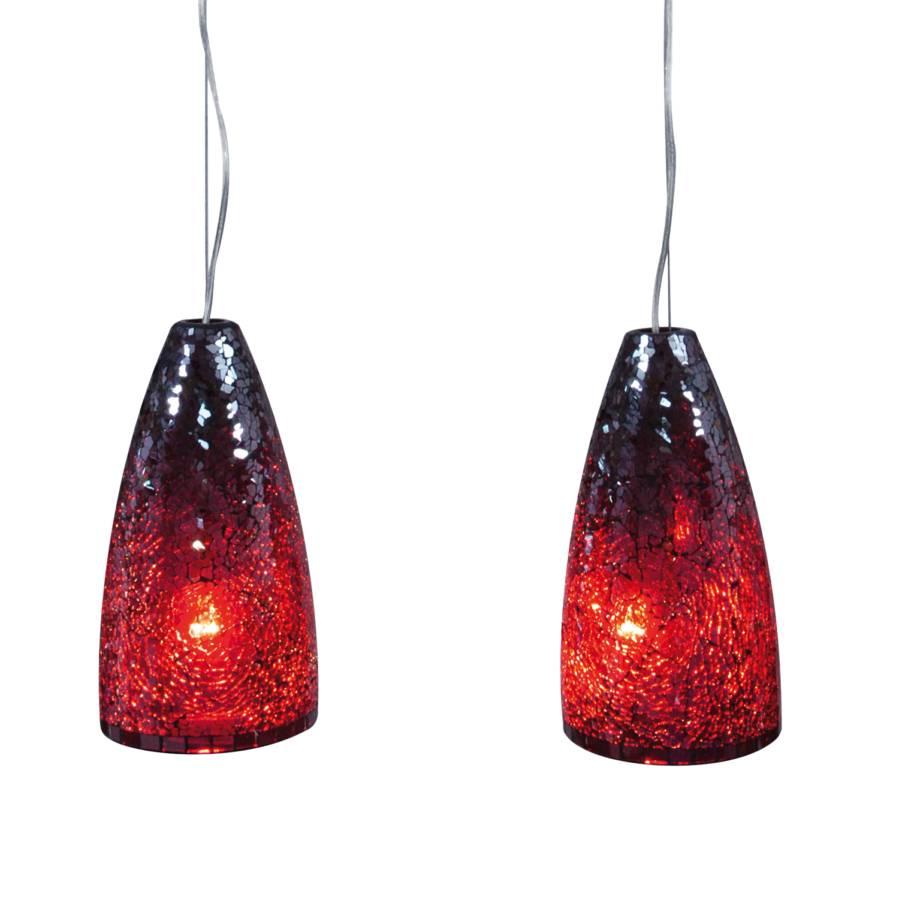 Suspension CristallinAcier Verre Monash Inoxydable2 Ampoules 67fgbyY
