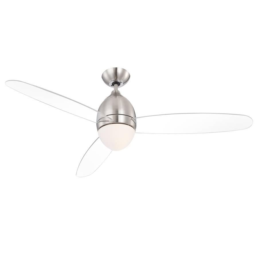 Ii Premier Verre DépoliFer2 Plafonnier Ampoules Ventilateur ZPiXTuOk