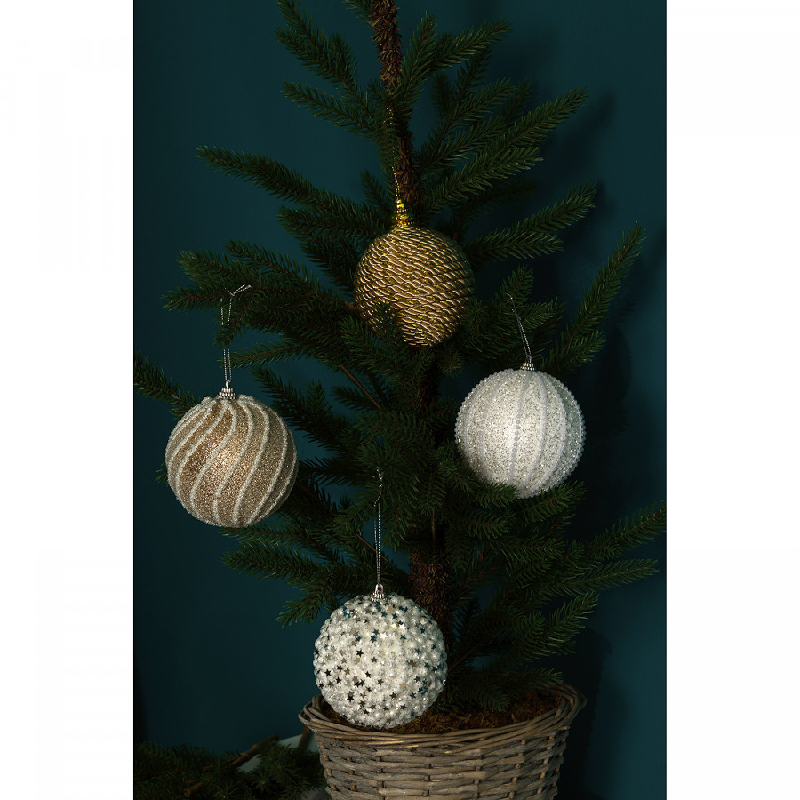 Boules Noël De Boules De Abenralot 4MousseMulticolore Abenralot 4MousseMulticolore Boules De Noël MzVLSGqUp
