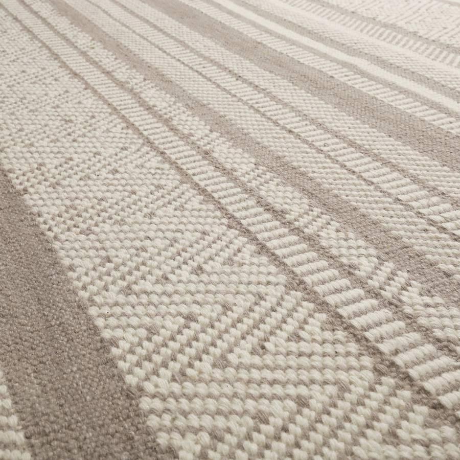 Kelim Hudson Hudson Beige Warmes Beige Wollteppich Warmes Kelim Wollteppich ZikXOPTu