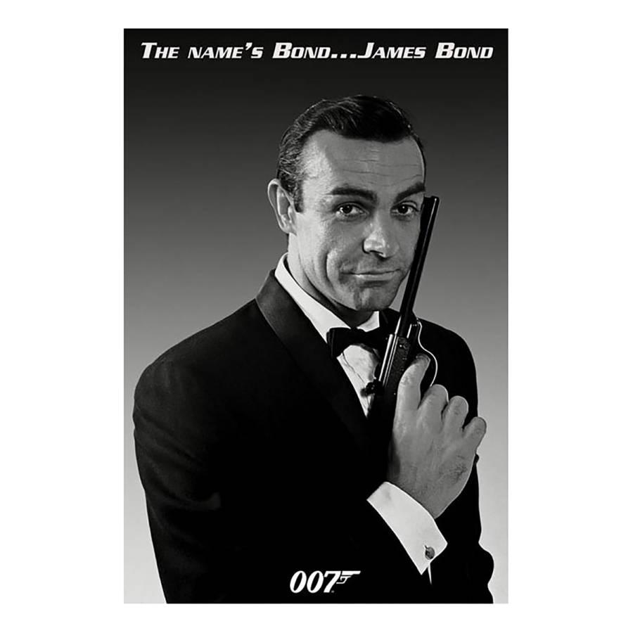 Papier Mdfmitteldichte Bild HolzfaserplatteMehrfarbig James Bond Auf QtCshdrx