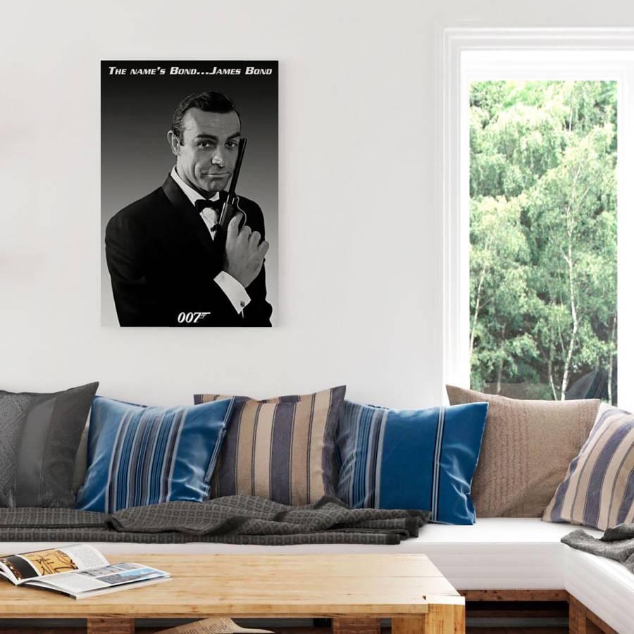 Bond Bild Auf Papier Mdfmitteldichte HolzfaserplatteMehrfarbig James 4L5jc3qASR
