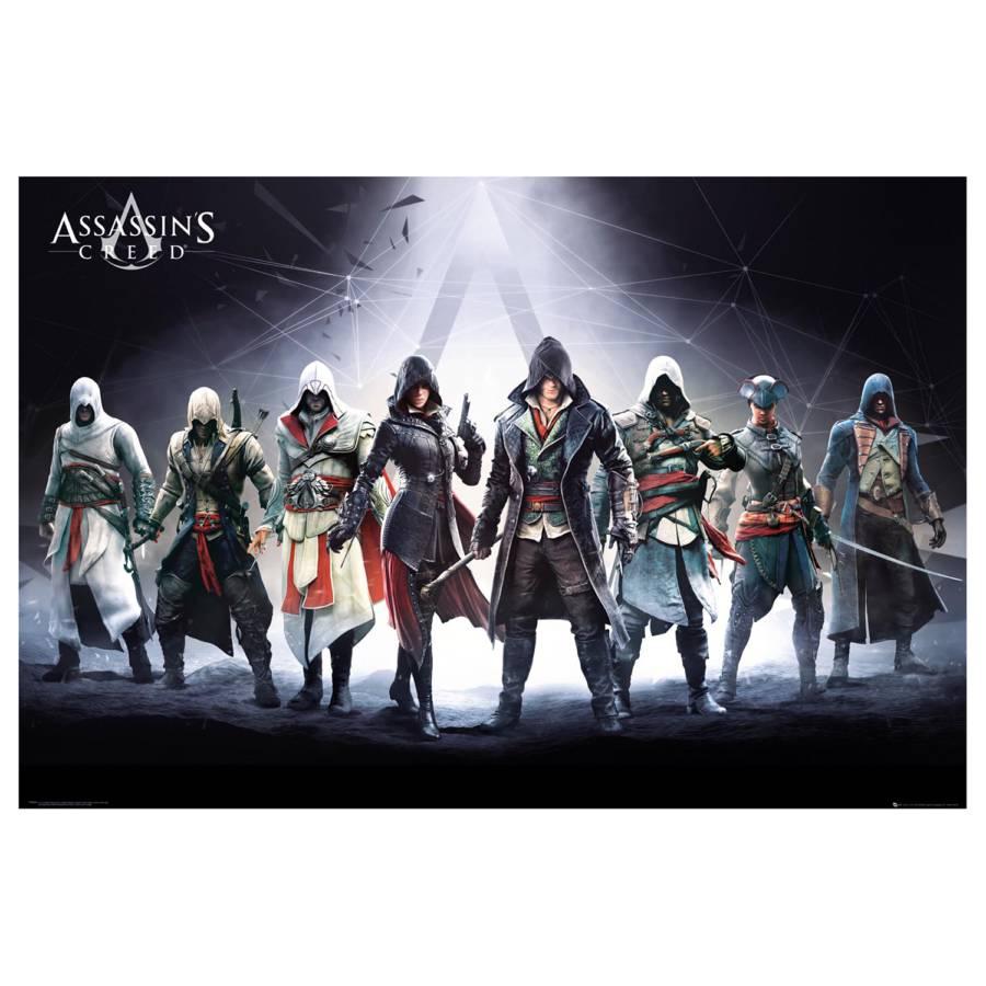 Creed Ii Bild Auf HolzfaserplatteMehrfarbig Assassin`s Papier Mdfmitteldichte kPXZiu