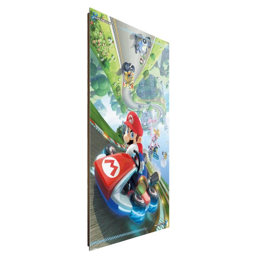 Mdfmitteldichte Auf Mario 8 Bild Papier Kart HolzfaserplatteMehrfarbig A34L5jqR