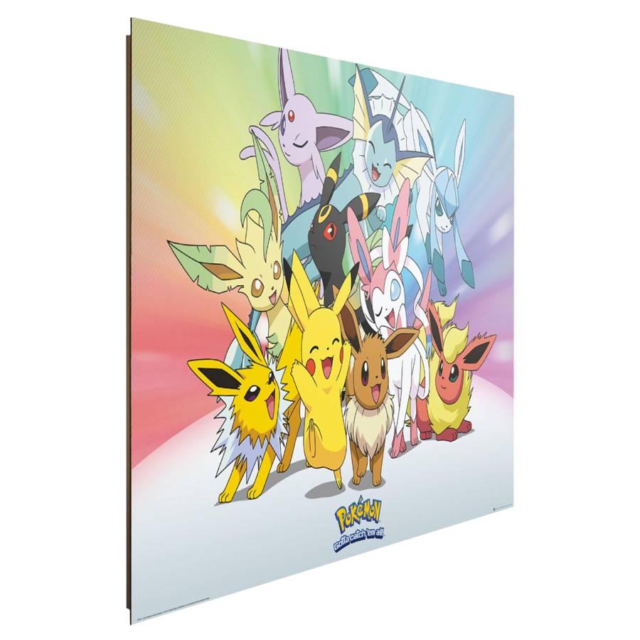Ii Pokemon HolzfaserplatteMehrfarbig Papier Mdfmitteldichte Bild Auf dtxrCBhQs