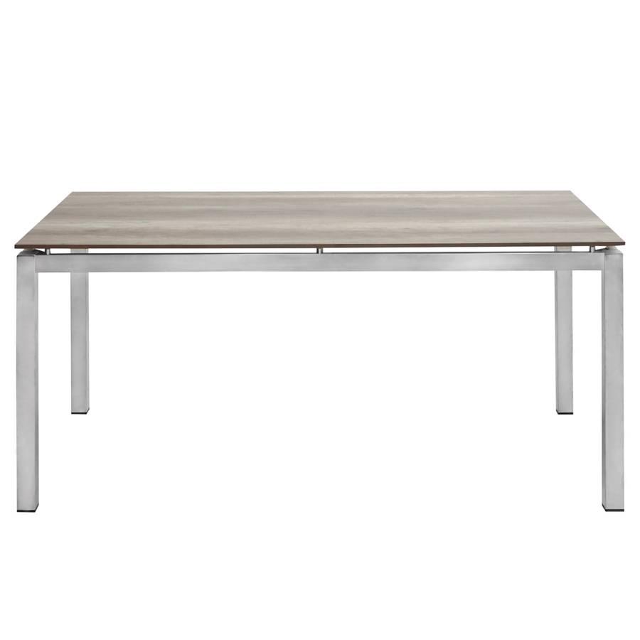 Acier De PlastiqueGris Table InoxydableMatière Hudson Jardin nwOX80kP
