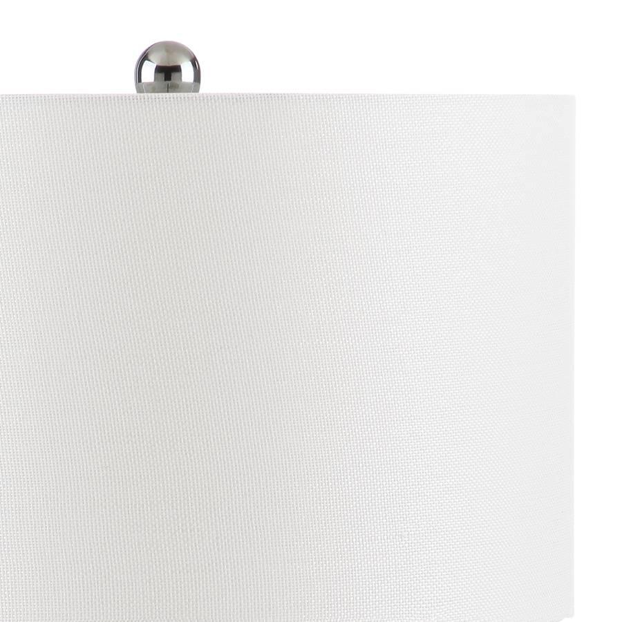Deidra Cuir1 Noir 2CotonImitation Lampes De Iilot Ampoule POknw0