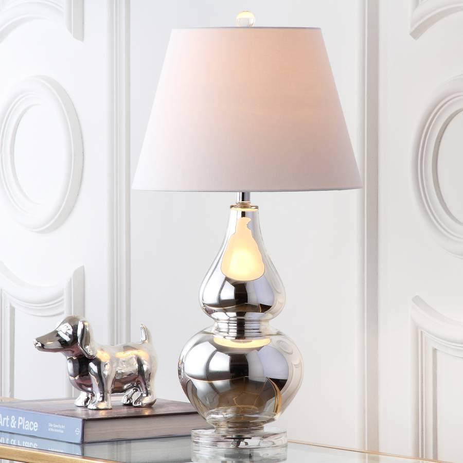 De 2CotonVerre1 Lampes Argenté Karalot Ampoule mn8Nv0wO