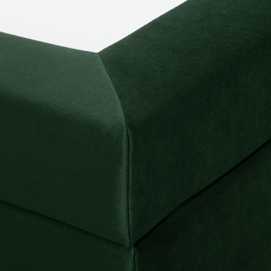 Lit Boxspring Foncé180 200cm Monroe Vert X 4Rj5L3qcA