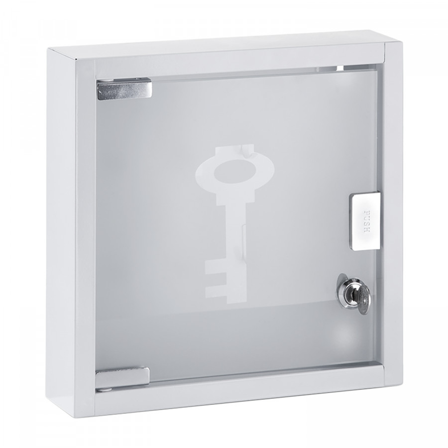GlasEdelstahlWeiß Mulwala Schlüsselkasten I I Mulwala Schlüsselkasten jAL53Rq4