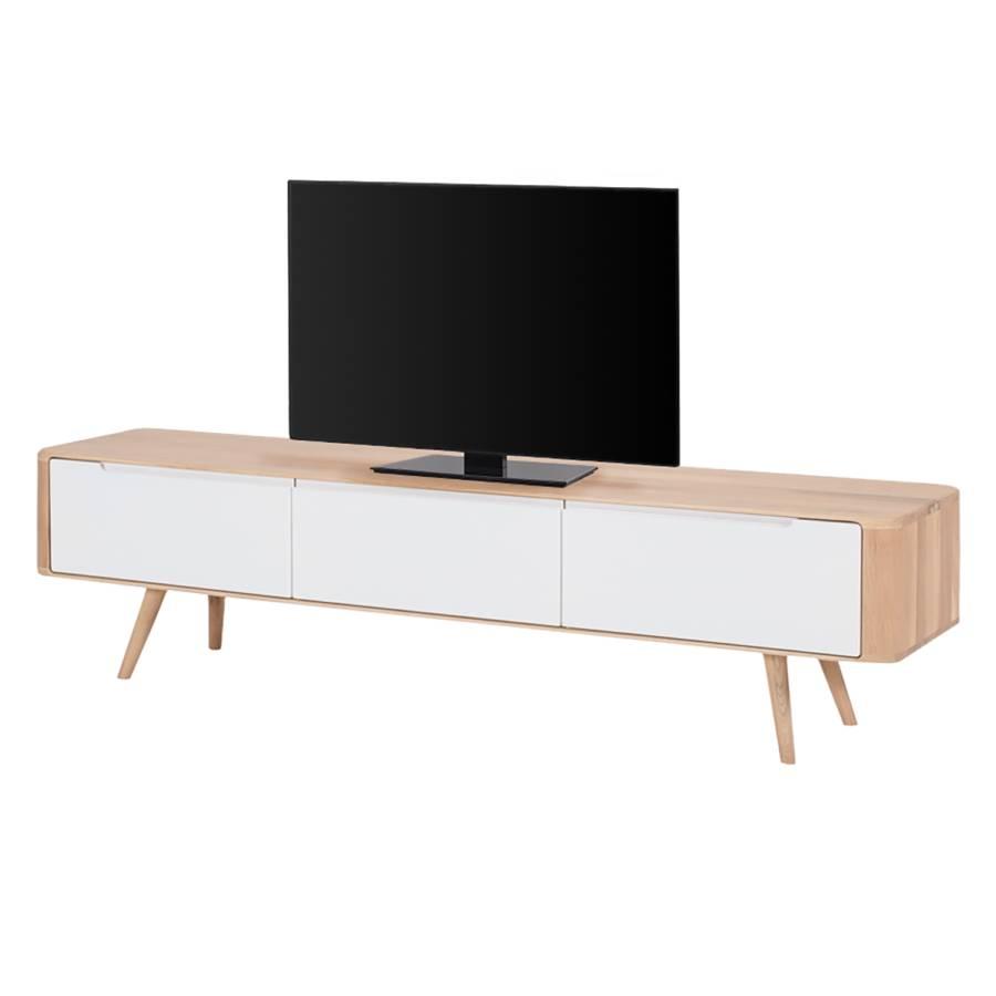 V lowboard TeilmassivHell 42 Geölt Wildeiche Cm Loca Tv 180 FJ1cKTl