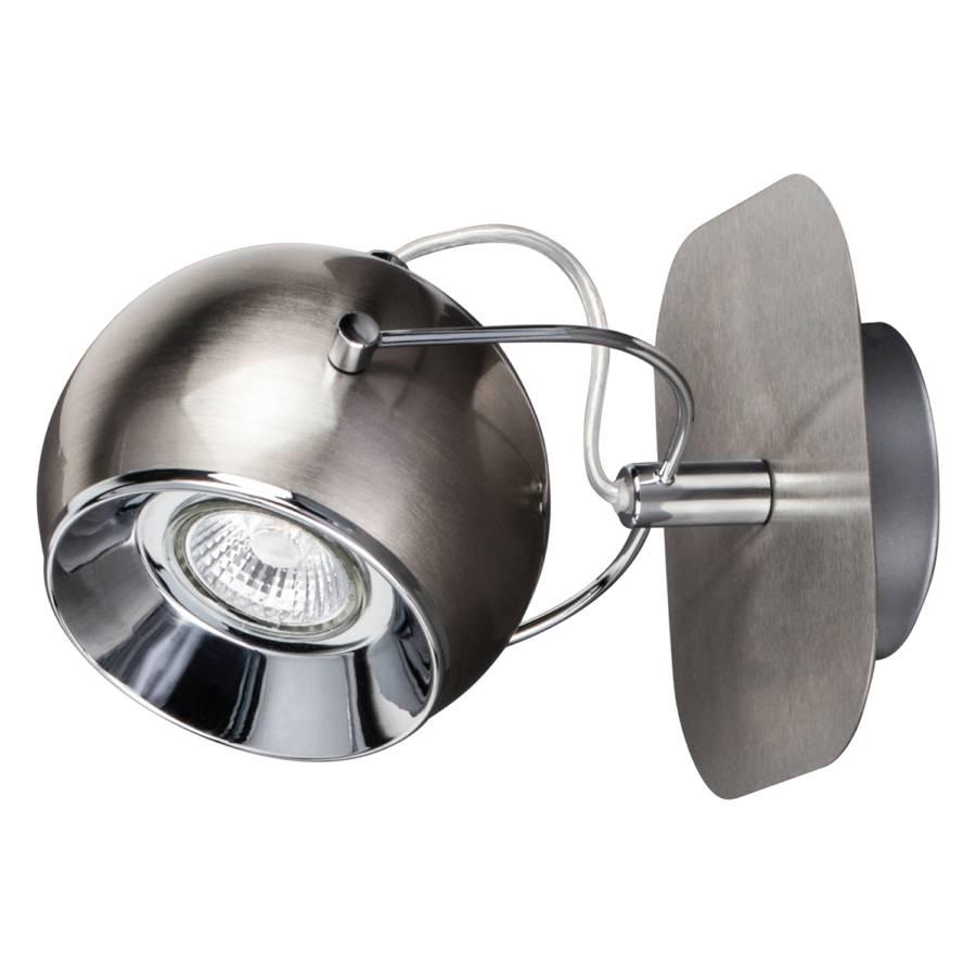 Stahl1 flammig Ball Silber Led wandleuchte rtxQhdsC