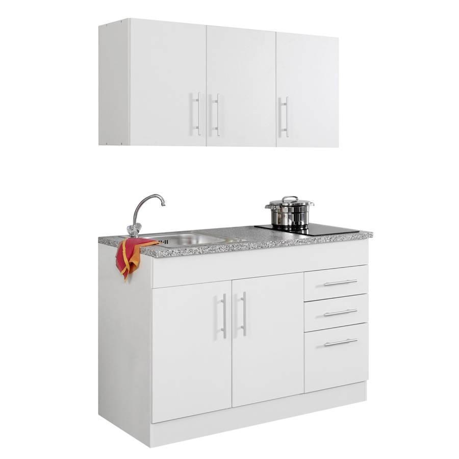 küchenzeile 120 Single WeißGlaskeramik Cm Toronto LMpSVzqGU