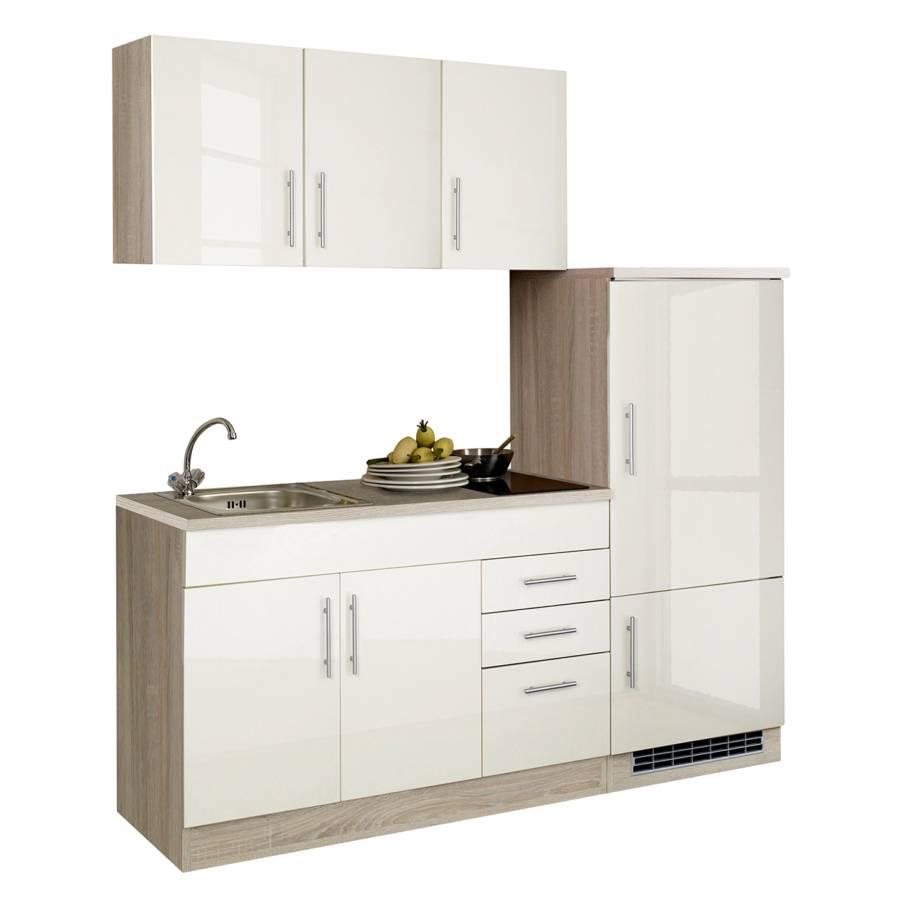 Cm Hochglanz 180 Küchenzeile I CremaGlaskeramik Toronto mv80wNn