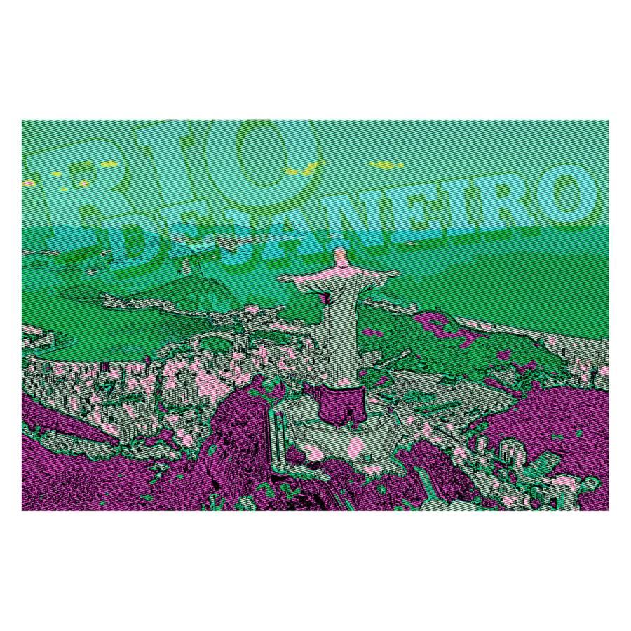 Janeiro Bild De Mehrfarbig Rio bf76Yyg