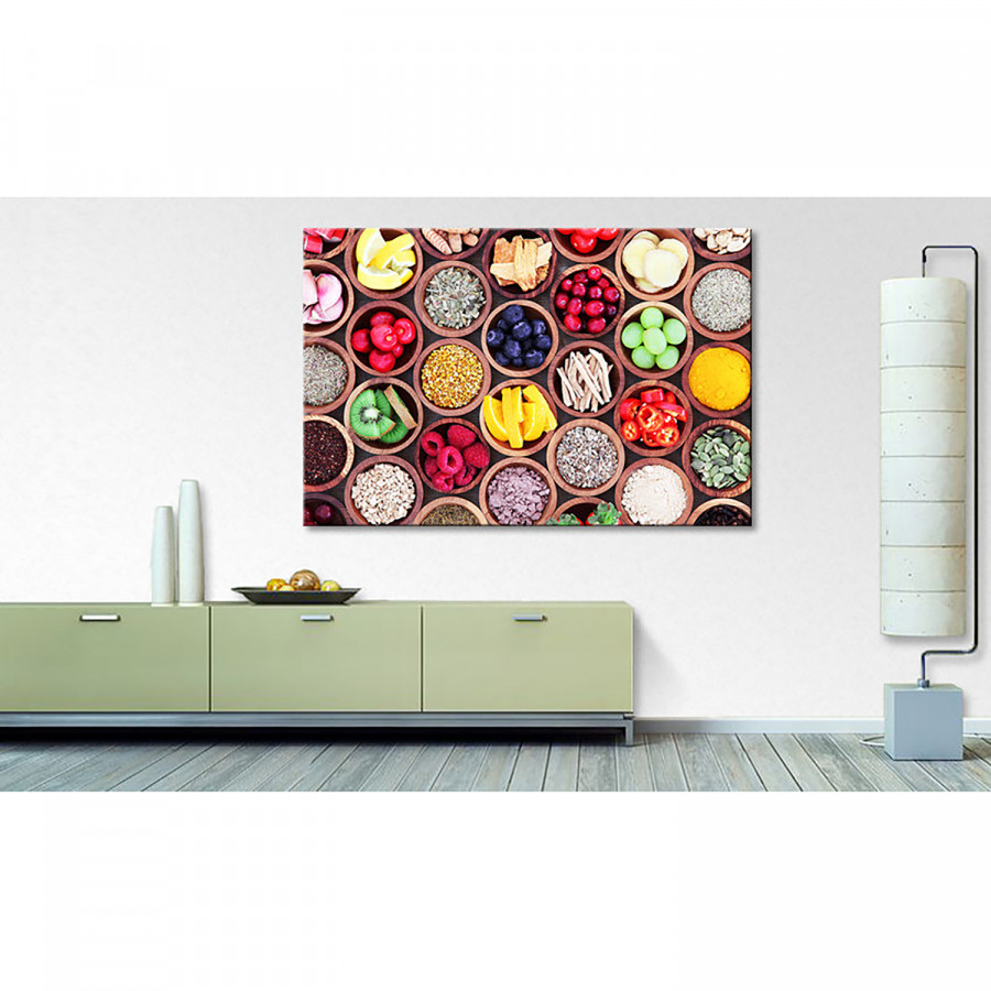 Kitchen Tableau Multicolore Darlings Déco OPkiTwuXZ