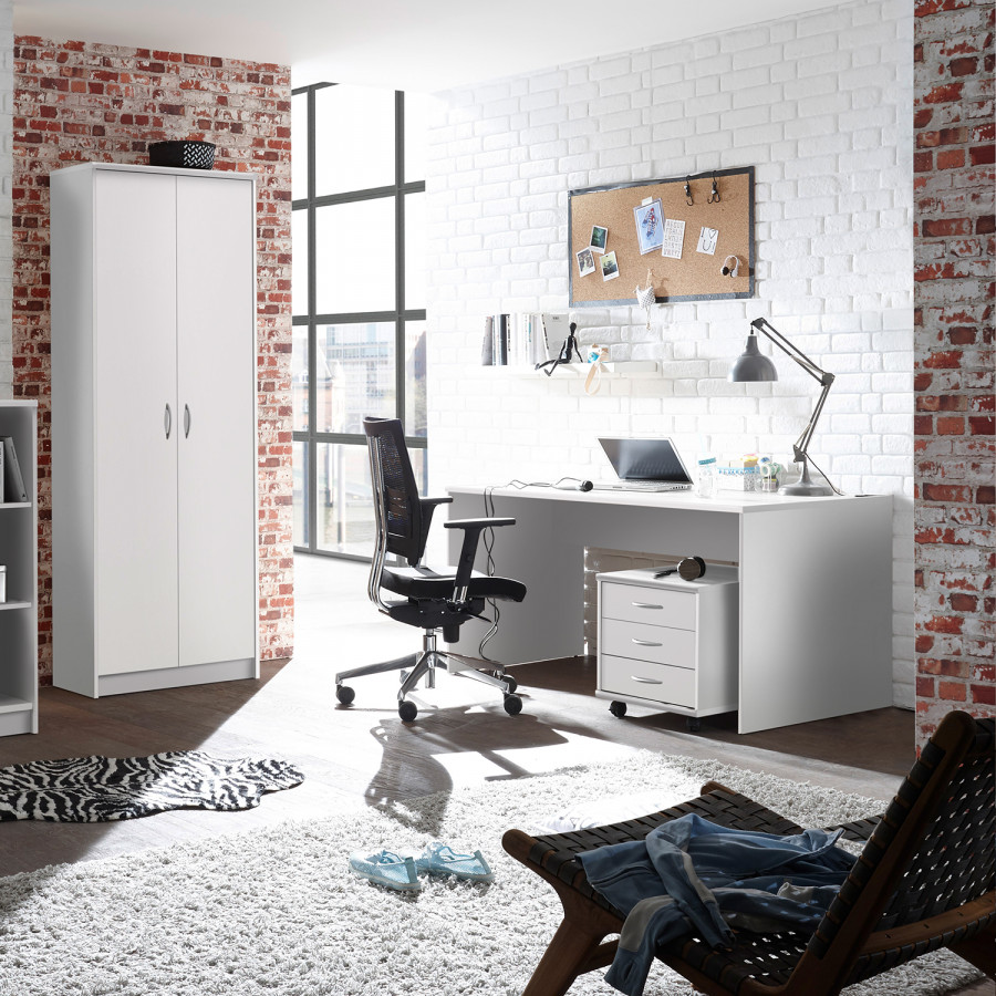 Longfaye Schreibtisch Schreibtisch Weiß150 Weiß150 Longfaye Cm Weiß150 Longfaye Cm Schreibtisch TclJK1F