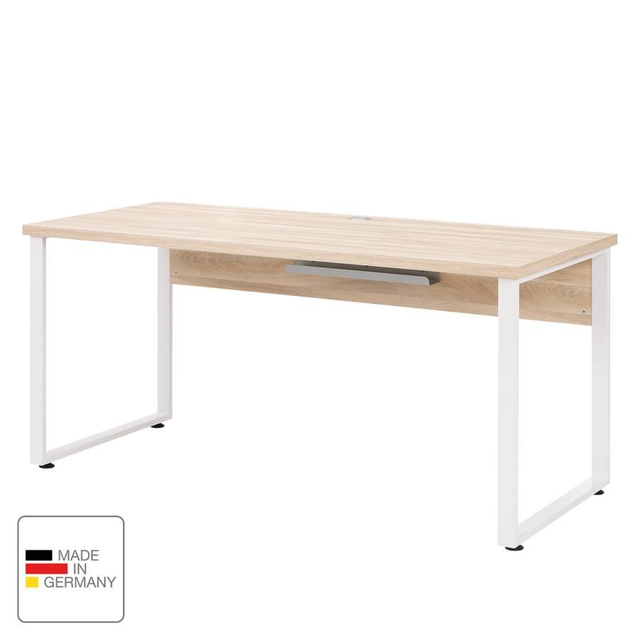 Dekor Set Set Schreibtisch WeißEiche Plus Plus Schreibtisch WD2HIE9