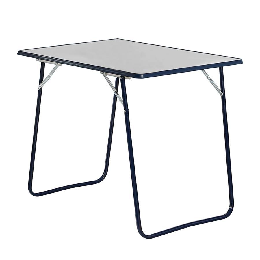 Pliante Camping AcierBlancBleu Camping Pliante Table Table 76gybfYv