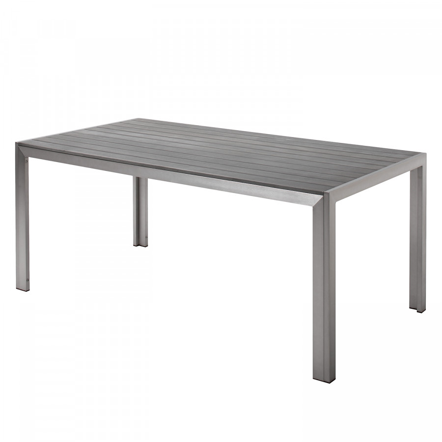 Table Jardin De De Seattle AluminiumAnthraciteArgenté Table Jardin v0m8wnNO