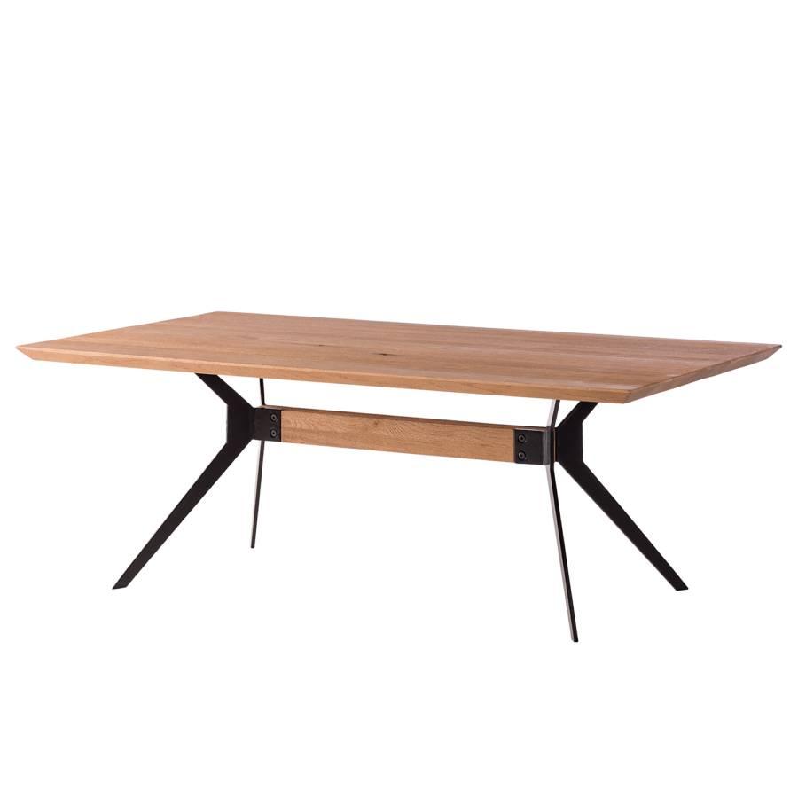Chêne Table Basse MassifMétal Basse Semaros Table KFlc1J