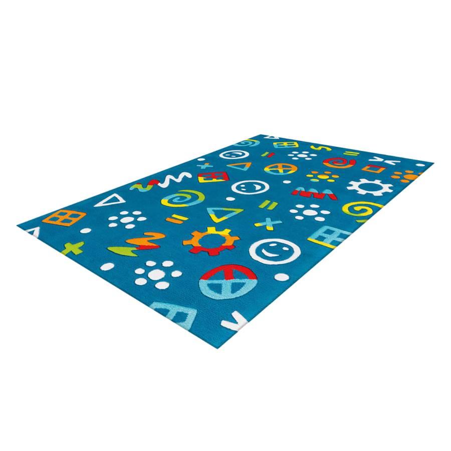 Kinderteppich KunstfaserBlauMulti Kinderteppich Icons KunstfaserBlauMulti Glowy Icons Kinderteppich Glowy NwnOv0y8Pm