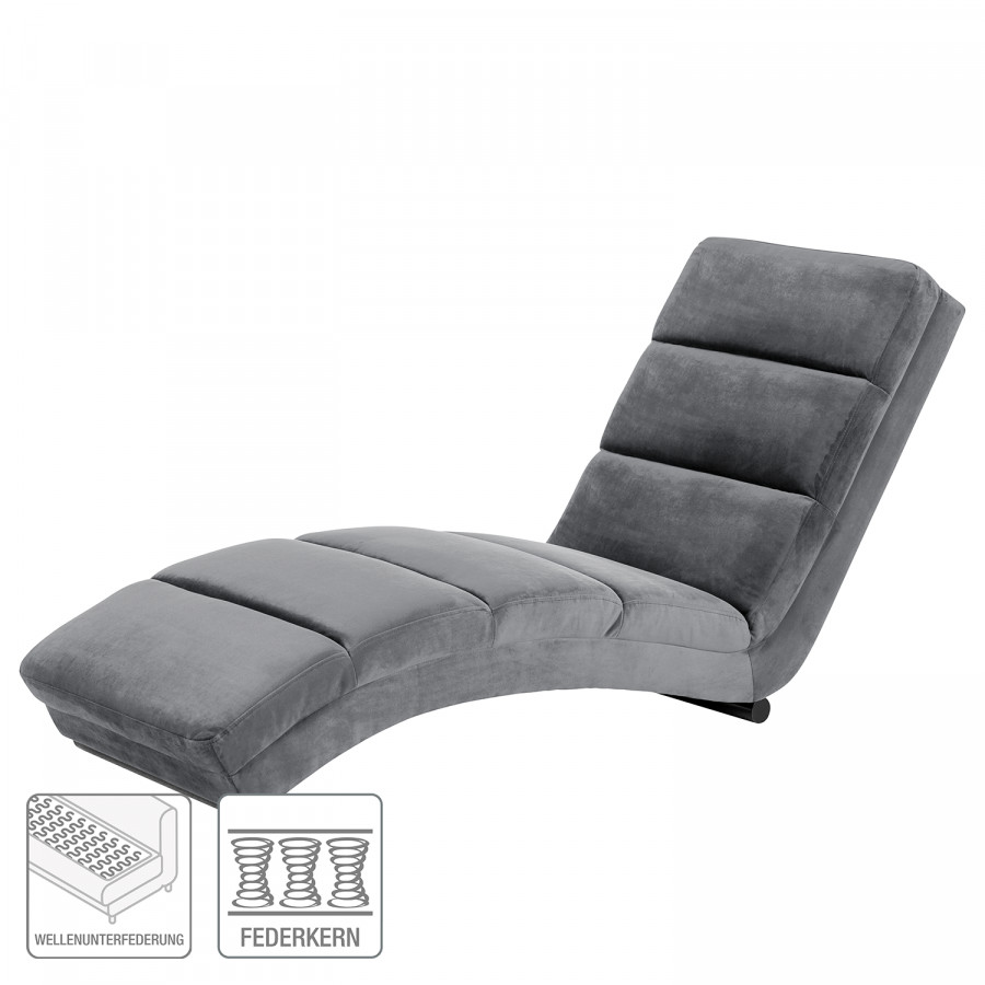 Chaise VeloursGris Seaham Relax Seaham VeloursGris Foncé Chaise Chaise Foncé Relax DWHY9E2I