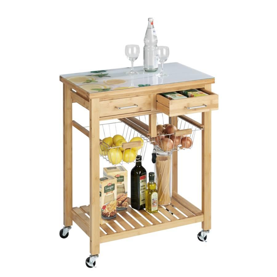 Fresco Furnier Bambus Bambus Küchenwagen Fresco Furnier Küchenwagen n0vPmwyN8O