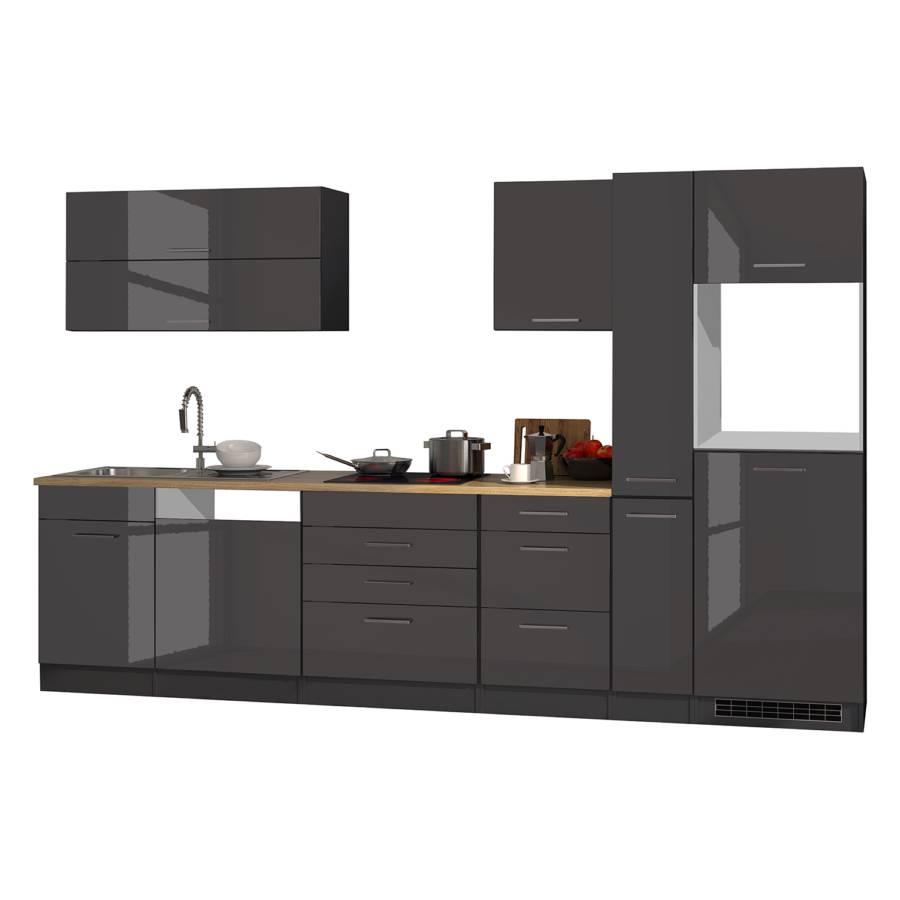 Kochfeld Küchenzeile Xi Elektrogeräte Mailand GraphitOhne ucJK3F1Tl5