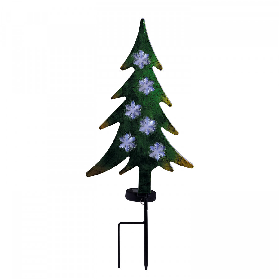 AcrylglasEdelstahl6 solar erdspieß flammig Tannenbaum Led TkuZPXOi