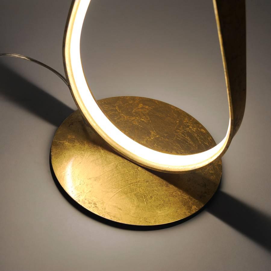 Linda stehleuchte Gold Led AluminiumAcrylglas1 flammig 1FKJlc