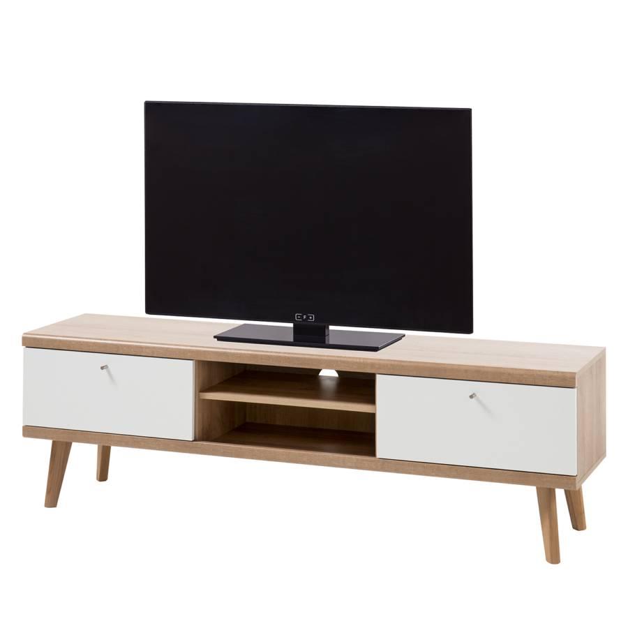 Tv WeißEiche lowboard Matt Gyland Riviera Ii Dekor SzVUqMp