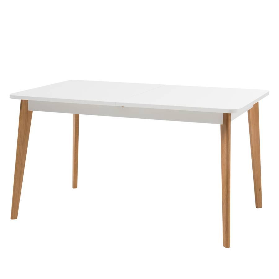 Gyland Riviera Blanc Chêne Table Extensible MattImitation tshdCQr