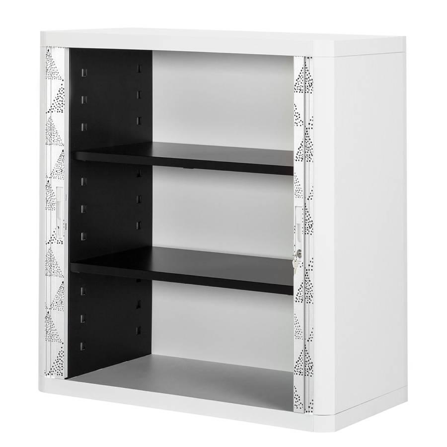 Black Ii white KunststoffGrauWeiß Aktenschrank Easyoffice 0ONwk8XnP