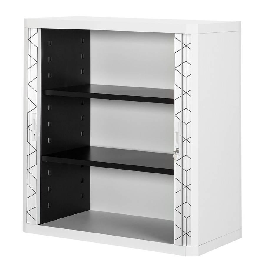 Black Aktenschrank white I Easyoffice KunststoffGrauWeiß tChdxBrsQ