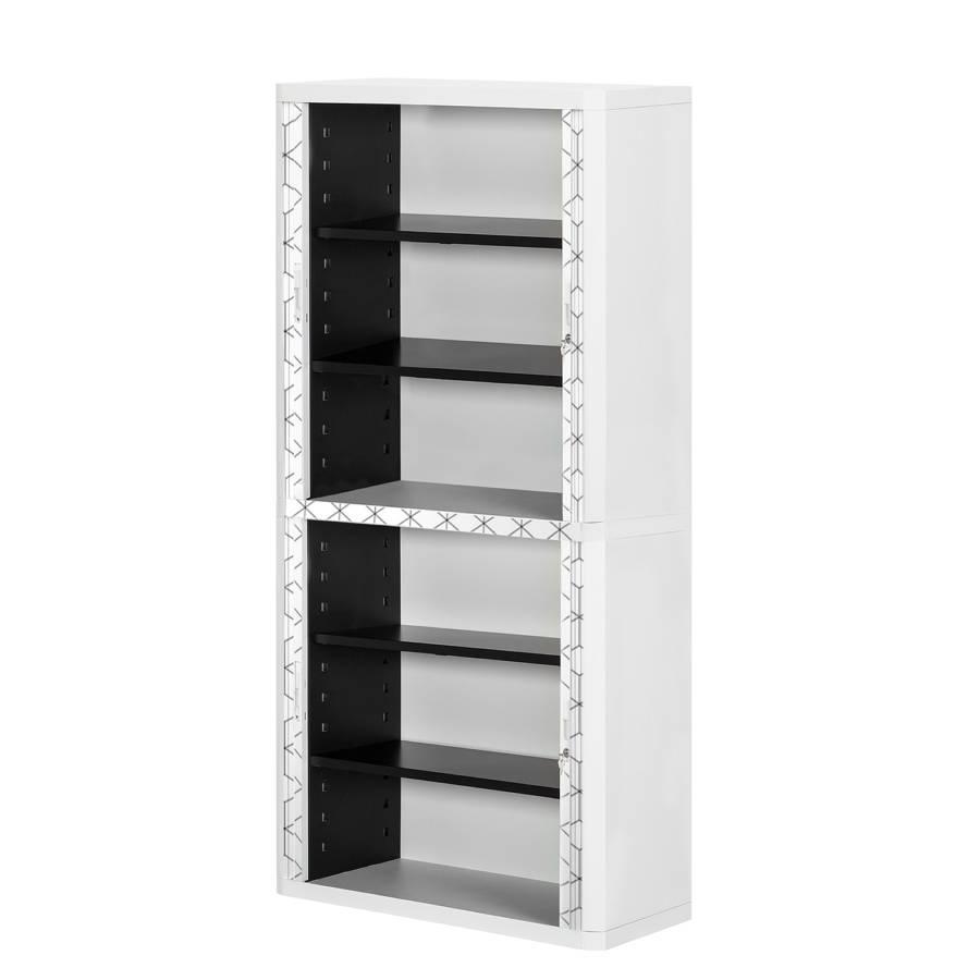 Iv Matière Easyoffice Armoire Bureau Black white PlastiqueGrisBlanc 8yn0OvmNw