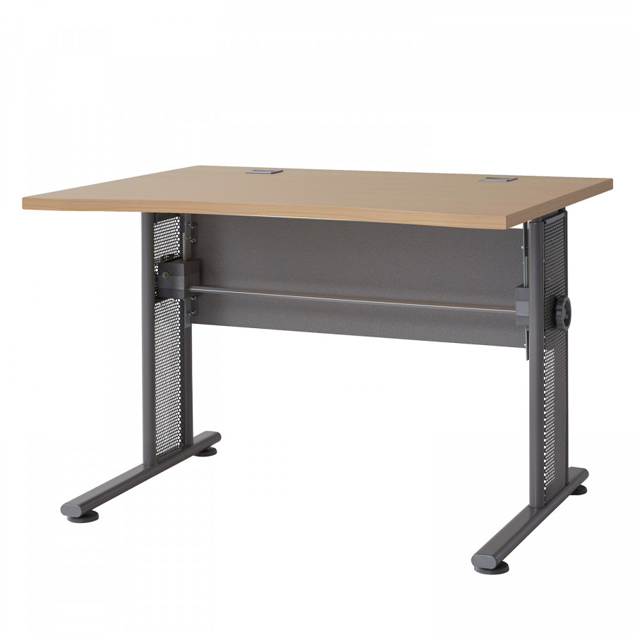 Avero Ahorn Schreibtisch Ii DekorSilber Schreibtisch TKF1Jcl