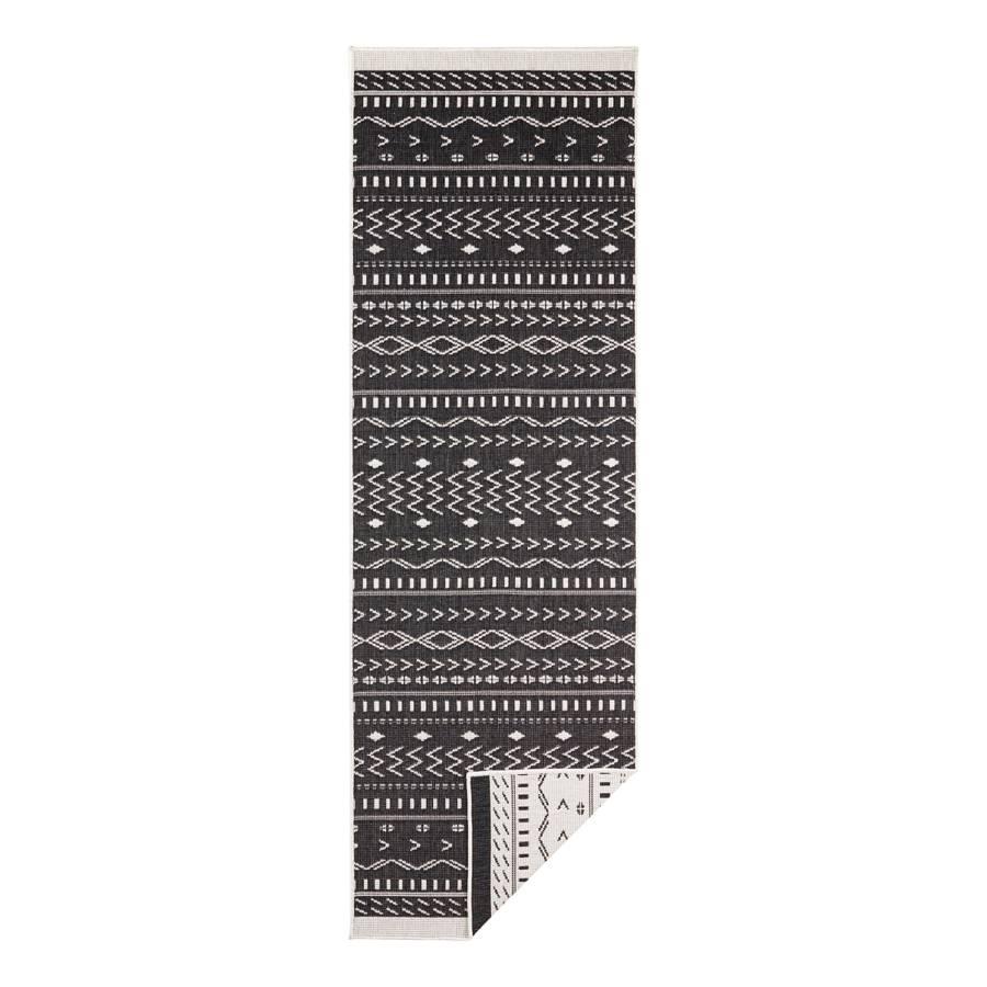 Tapis 80 De 350 Couloir Cm X Kuba Fibres SynthétiquesNoir 7mvb6IfgYy