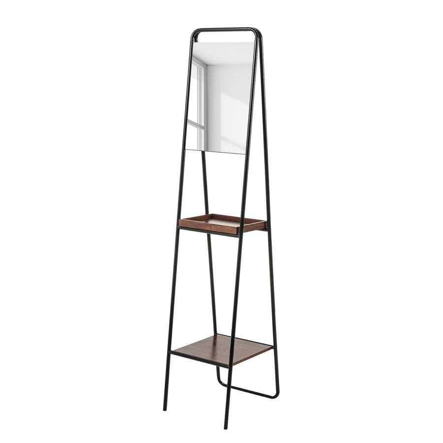 Flaxton Standspiegel Standspiegel StahlSchwarzWalnuss Standspiegel Flaxton StahlSchwarzWalnuss TOkiuXPZ