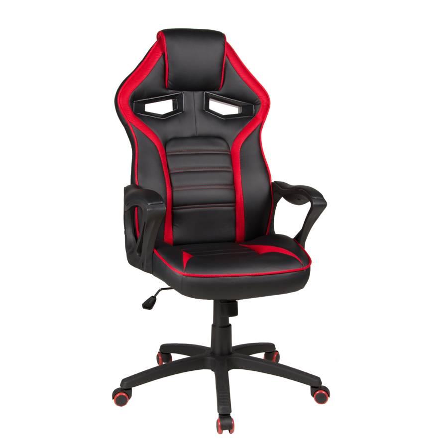 Gaming KunstlederKunststoffSchwarz Gaming Chair Rot Splash Chair JTKF1cl