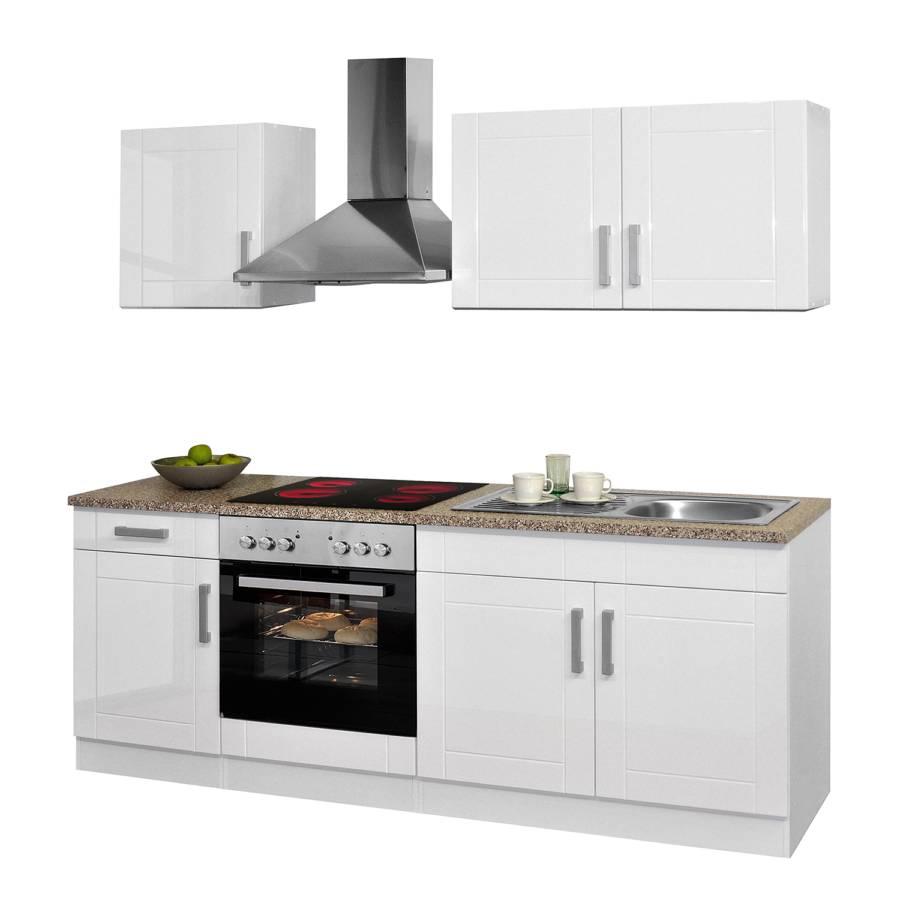 Küchenzeile WeißMit Hochglanz Varel I Elektrogeräten dxoerQCBWE