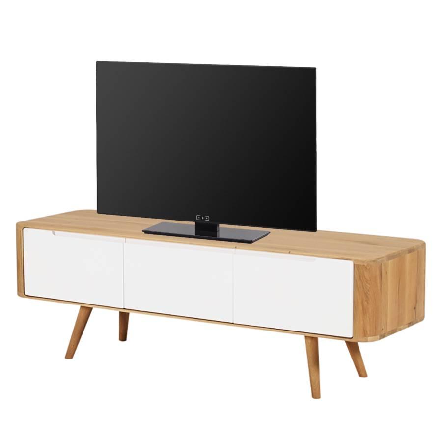 Wildeiche lowboard V Tv Teilmassiv135 Loca Cm 42 80OwnPk